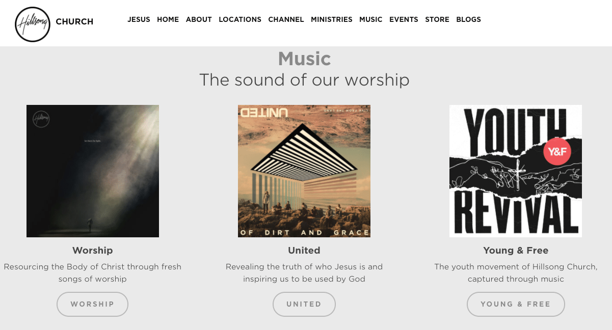 Album Art work: Hillsong United